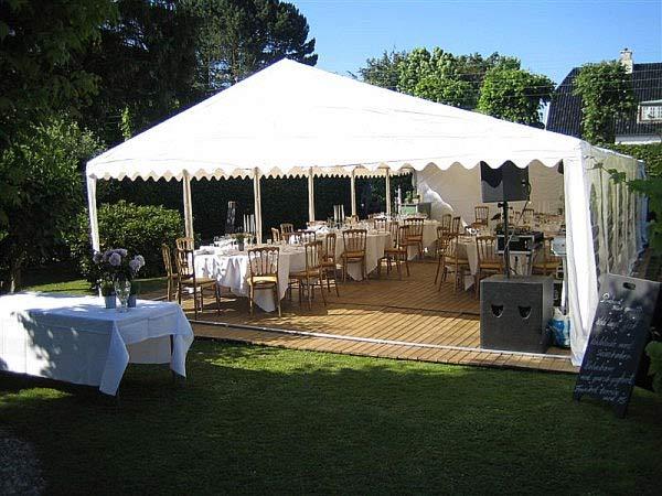 Partytelt til bryllup