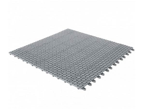 Solid gulv av typen plast